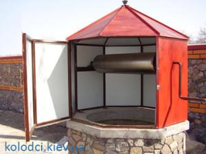 Домики для колодца в Киеве и области